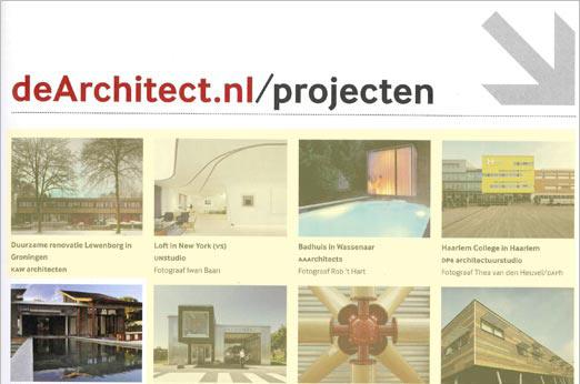 Website deachitect.nl