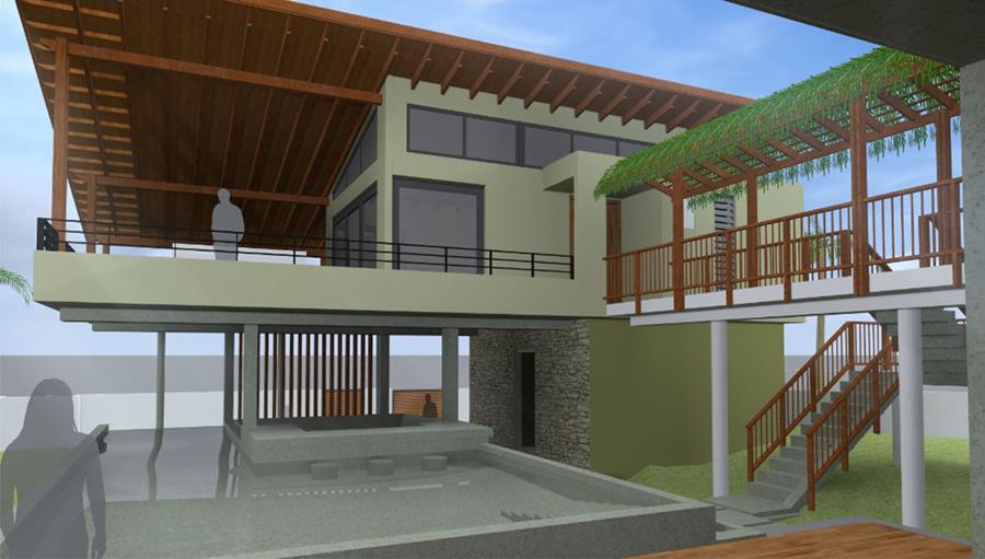 Start bouw Dream villa Jan Thiel